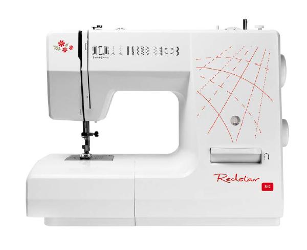 Redstar R12 celokovový šijací stroj s overenou kvalitou