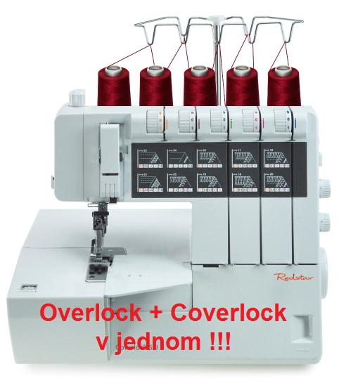 Redstar coverlock 50 a overlock 50