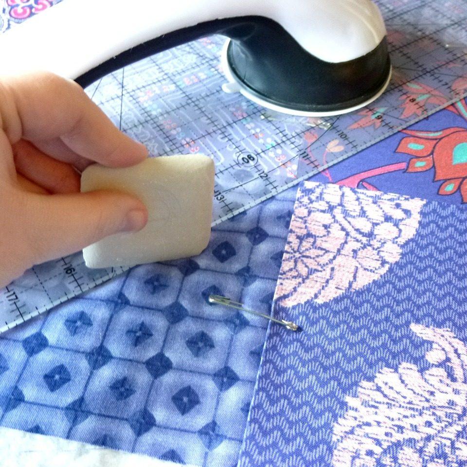 Patchwork - Vytvorte krásne a praktické diela recyklovaním textilu