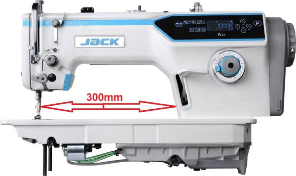 JACK A6F 1-ihlový, ihlové podávanie...