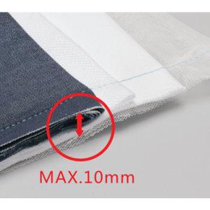 Jack A2 šitie ľahkých a stredných materiálov
