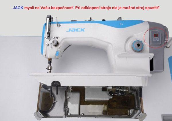 Jack F4-H bezpečnostný senzor nespustí stroj pokiaľ je naklonený pri údržbe