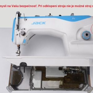 Jack F4 bezpečnostný senzor nespustí stroj pokiaľ je naklonený pri údržbe