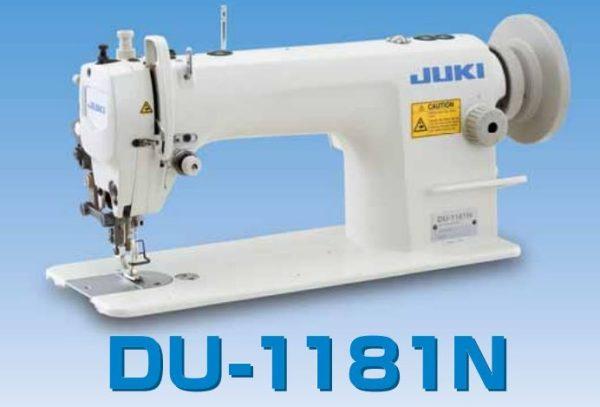 JUKI DU1181N pätkové a dolné podávanie na ťažký materiál