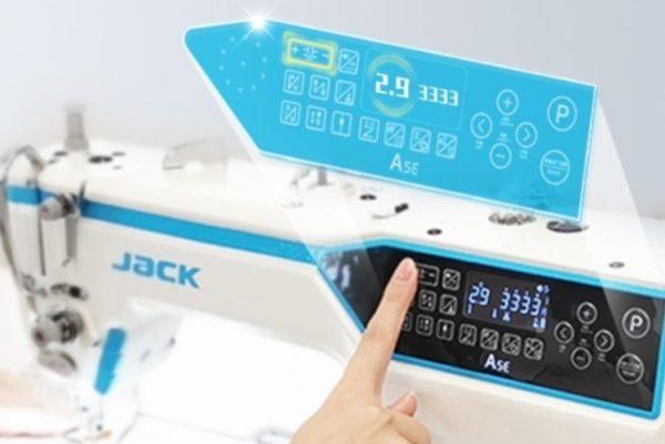 Jack A5E veľmi presné nastavenie stroja