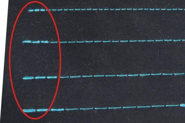 Jack AE4 presné prekrytie stehov